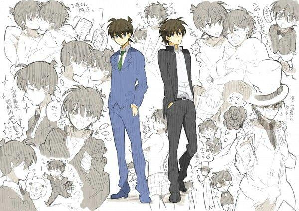 Shinichi / Kaito kid