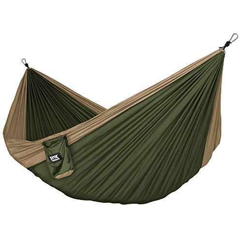 Neolite Single Camping Hammock - Lightweight Portable Nylon Parachute Hammock for Backpacking, Travel, Beach, Yard. Hammock Straps & Steel Carabiners Included. For product & price info go to:  https://all4hiking.com/products/neolite-single-camping-hammock-lightweight-portable-nylon-parachute-hammock-for-backpacking-travel-beach-yard-hammock-straps-steel-carabiners-included/