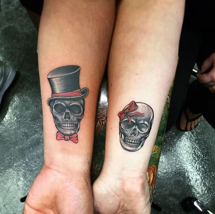 awesome Women Tattoo - These are, without a doubt, the most romantic couple tattoos in the world....