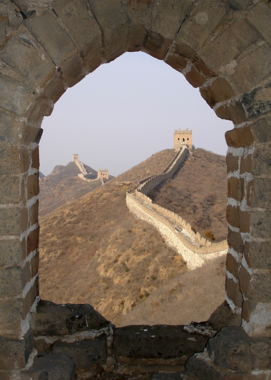 Great Wall, China - took a random bus for 20 bucks from Beijing and ended up here!Chine Wall, The Great Wall, Great Wall China, Buckets Lists, Bus, Places I D, Magic Places, Travel, Beijing