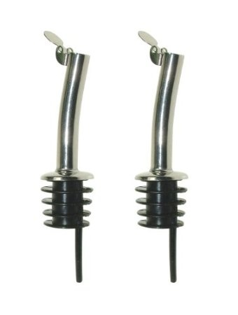 Pair of Oil or Vinegar Drizzler Spouts: Amazon.co.uk: Kitchen & Home