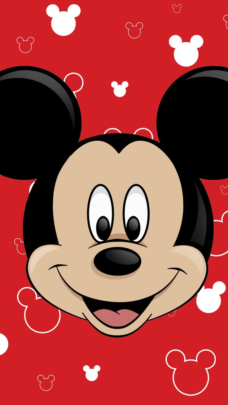 ミッキーマウス[1] | なにこれ超かわいい☆どアップきせかえiPhone壁紙