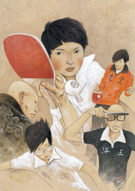 PING PONG The Animation by great duo Taiyo Matsumoto x Masaaki Yuasa