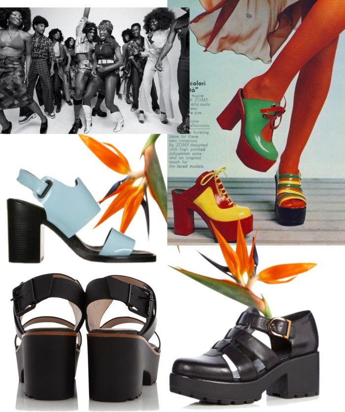 Lief en stout, de blokhak! Prima passend bij de retro jaren 70 outfit die nu weer in opmars is. Hakken met volume passen helemaal in het modebeeld van de zomer 2015. Lees verder http://trendbubbles.nl/de-blokhak-mag-weer/ #blokhak #schoenen #trends #trendy #zomermode #2015