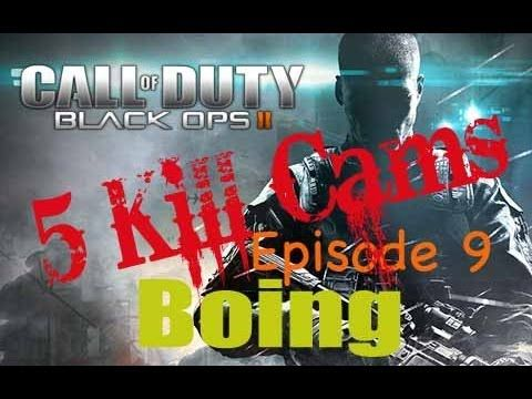 Five Kill Cams - Call of Duty Black Ops 2 - Episode 9 - Boing!!!