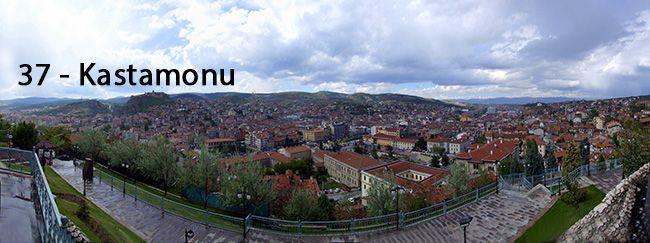 33 Plaka Mersin (İçel), 37 Plaka Kastamonu, 48 Plaka Muğla, 50 Plaka Nevşehir, 54 Plaka Sakarya, 78 Plaka Karabük http://www.plakalar.gen.tr/37-plaka/