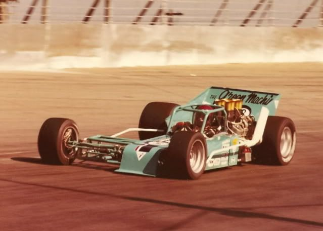 Gary Lang Chevy >> Jim Shampine's rear engine super modified | strange and ...
