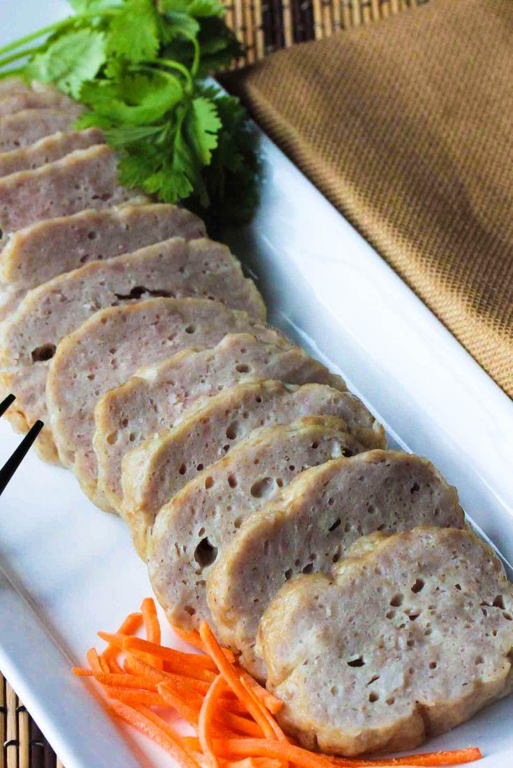 Cha Lua (Vietnamese Ham) aka Pork Roll