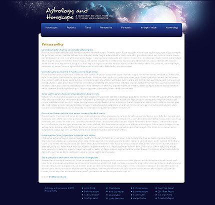Psycards Fortune Website Templates by Glenn
