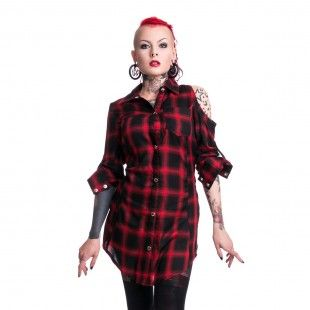 TRIANT SHIRT RED CHECK