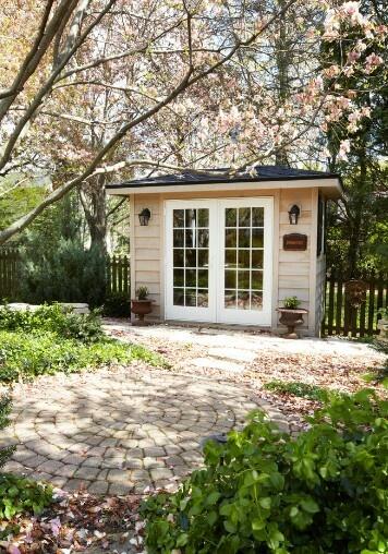 Cute Backyard Sheds : Cute shed  Garden sheds  Pinterest