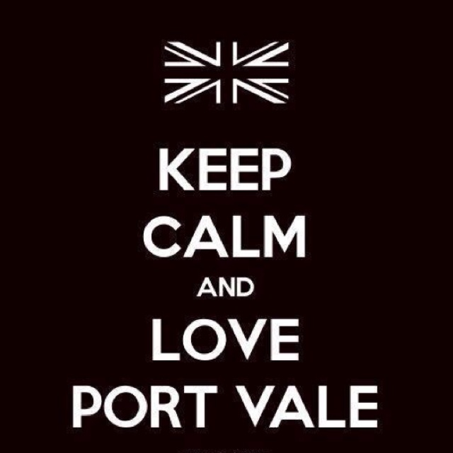 Keep Calm Port Vale