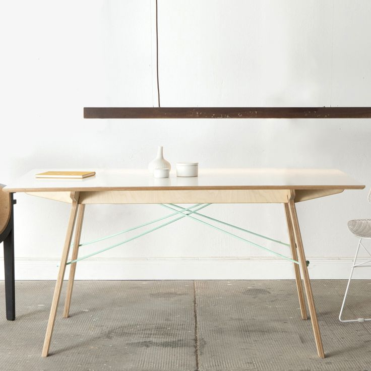 Trestle Tables with Simple Charms by stückwerk #MONOQI