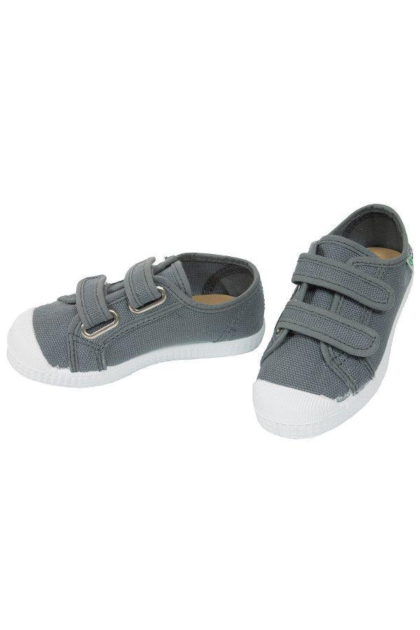 Kinder Schuhe Sneaker Mit Klettverschluss Grey Von Natural World Gr 23 Kinder Schuhe Kinderschuhe Sneaker