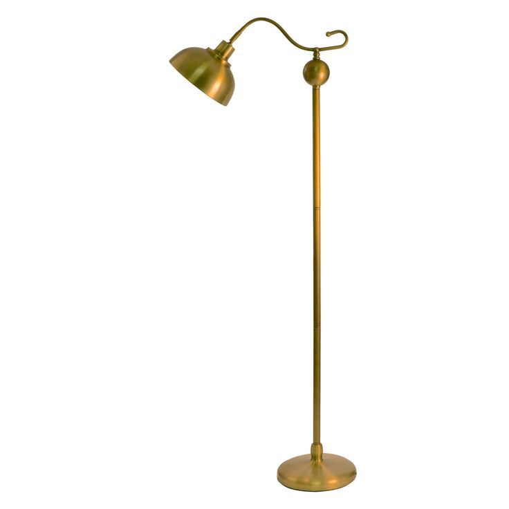 Decor Therapy Antique Brass Floor Lamp - PL3756