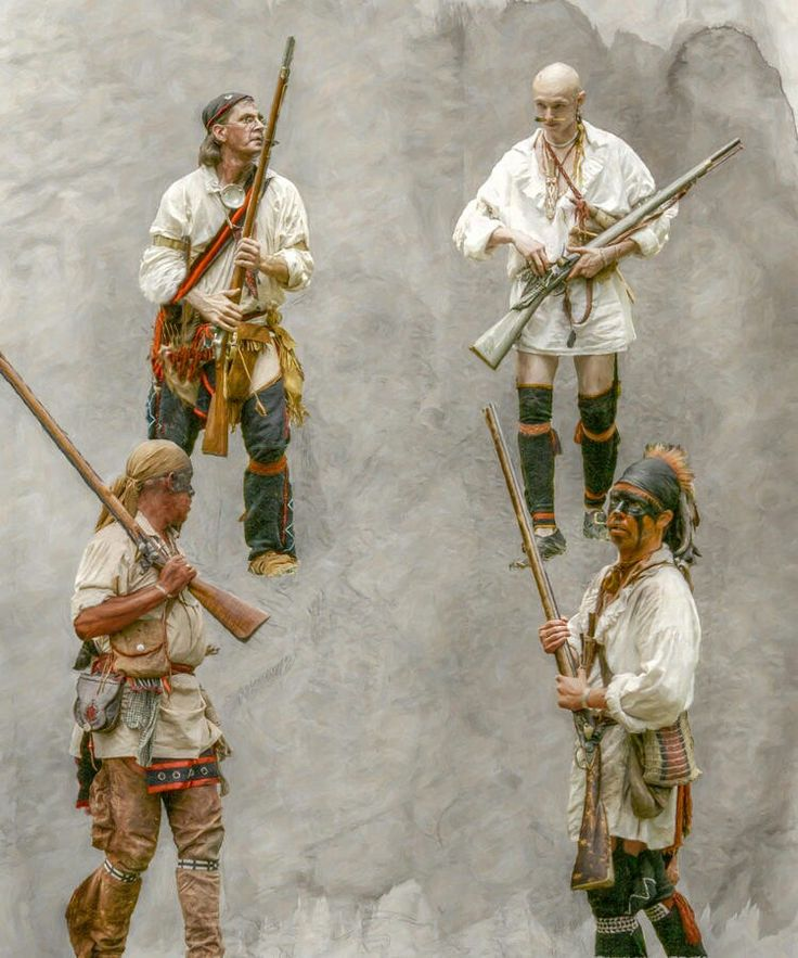 Four Of A Kind French And Indian War by Randy Steele