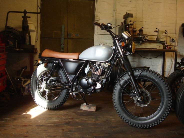 The Morton Mutt (Mutt Motorcycles) based on the HMC Classic