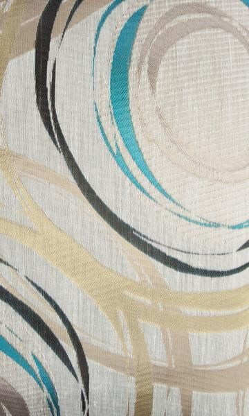 'Amphina Blue' Fabric Swatch