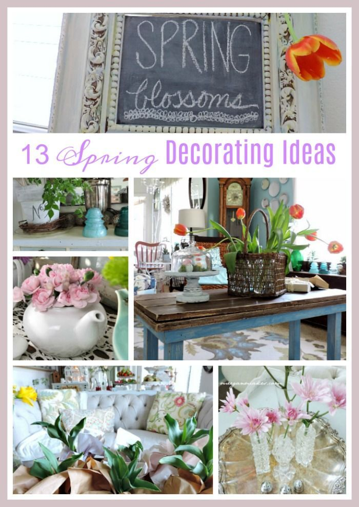 13 Spring Home Decorating Ideas Whatmeeganmakes Springdecor