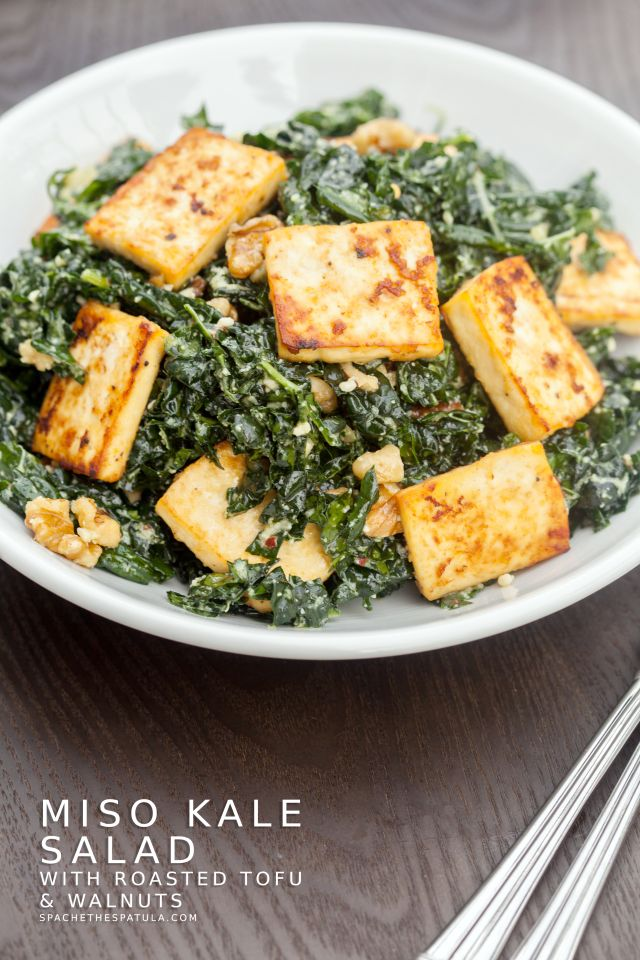 ... Tofu Salads on Pinterest | Caesar salad, Thai peanut salad and Spicy