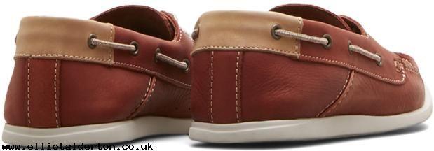 Kenneth Cole New Era Leather Boat Shoe