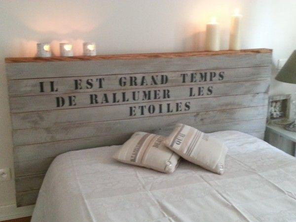 Têtes de lit originales et à faire sois même