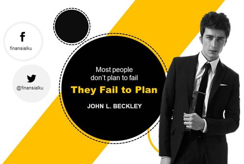 Gagal merencanakan keuangan keluarga berarti… Perencana keuangan independen Finansialku akan membahas lebih dalam konsekuensi jika seseorang gagal merencanakan keuangan keluarga.  English: Most people don't plan to fail. They fail to plan.  Indonesia:  Orang tidak merencanakan untuk gagal, tetapi mereka gagal merencanakan.  John L. Beckly  Selengkapnya: http://goo.gl/LxYEip