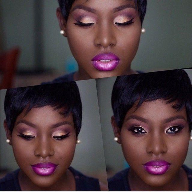 Black And Pink Kiss Makeup: Best 25+ Lipstick For Dark Skin Ideas On Pinterest