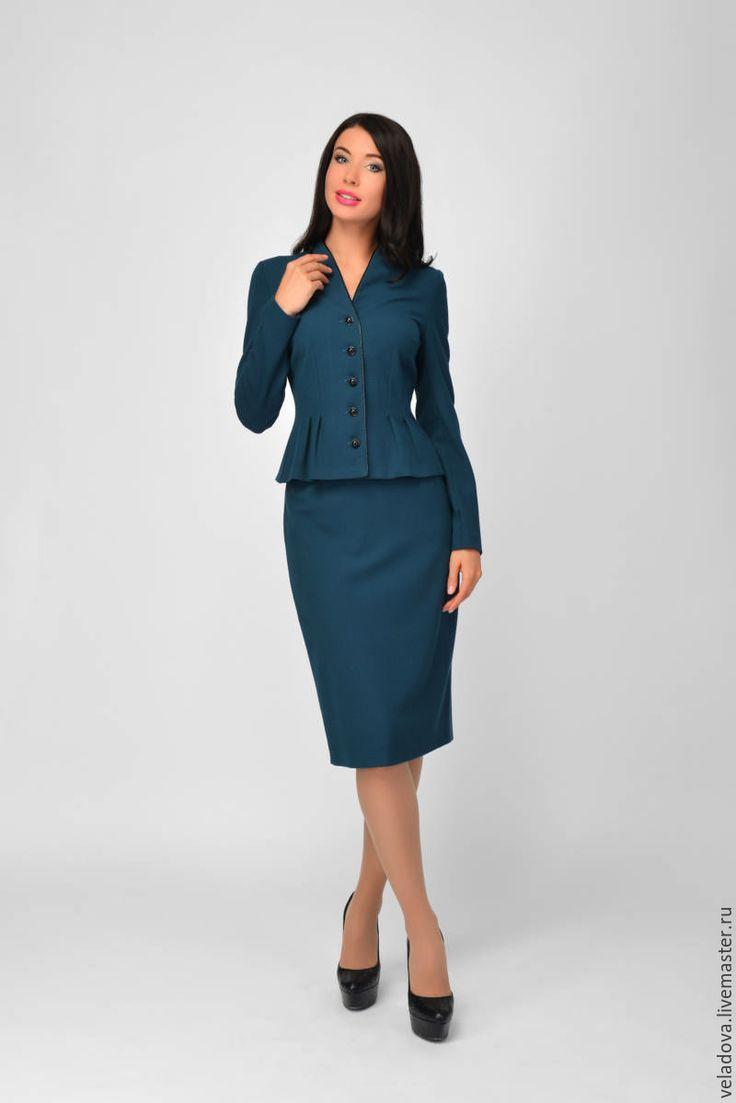 Женская одежда деловой костюм купить