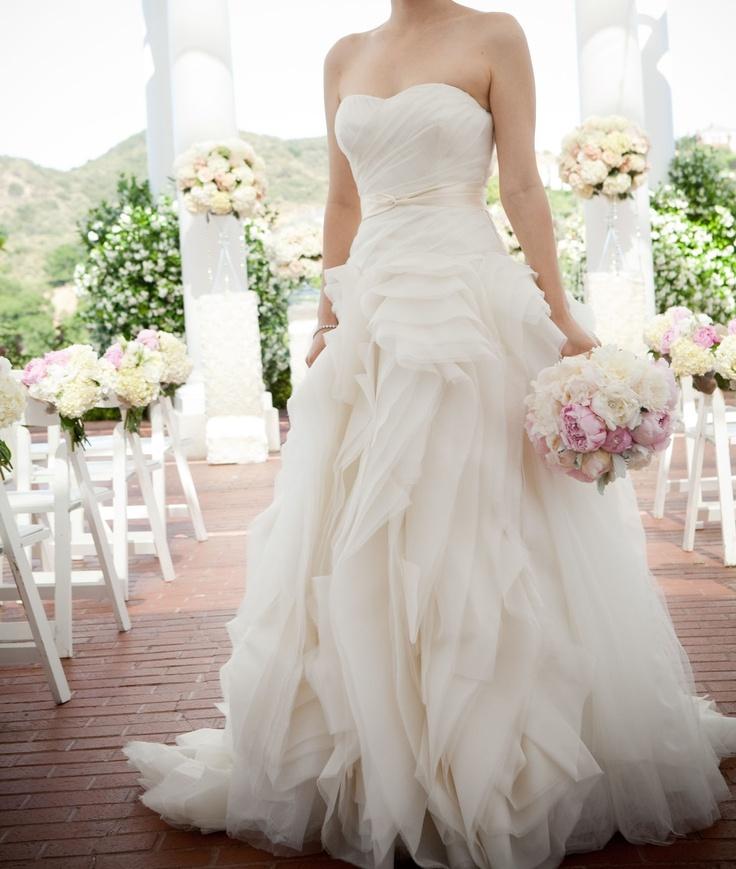 Vera wang wedding dress style diana