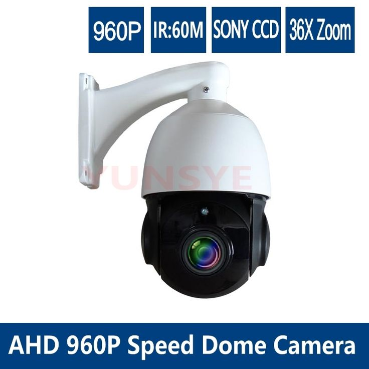 209.92$  Buy here - http://ali6nr.worldwells.pw/go.php?t=32294943195 - free shipping Mini speed dome camera ir 60m Analog 960p AHD Speed Dome Camera AHD  Medium speed dome camera  AHD security camera