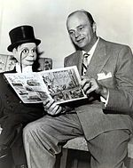 Edgar Bergen with Charlie McCarthy 1947.