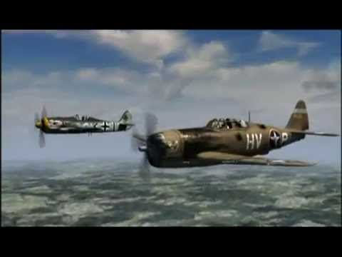Republic P-47 Thunderbolt ~ Documentary about American pilots - YouTube ~ BFD