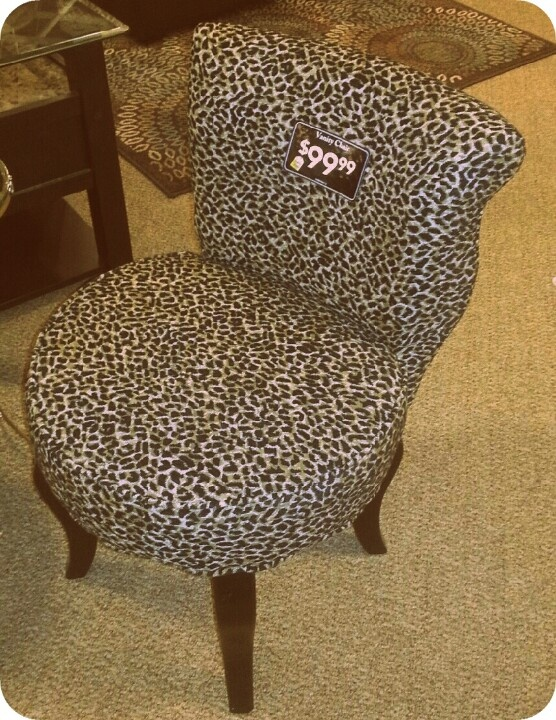 In Love With My New Leopard Vanity Chair! ♥♥