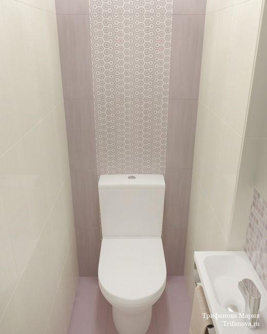 Женская классика. Трехкомнатная квартира в Москве. Ванная