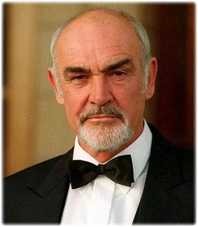 Sean Connery...style looks like this.