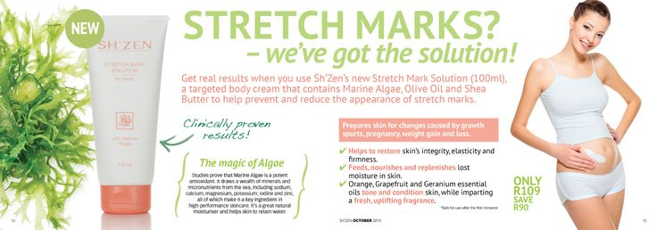Stretch marks? we've got the solution