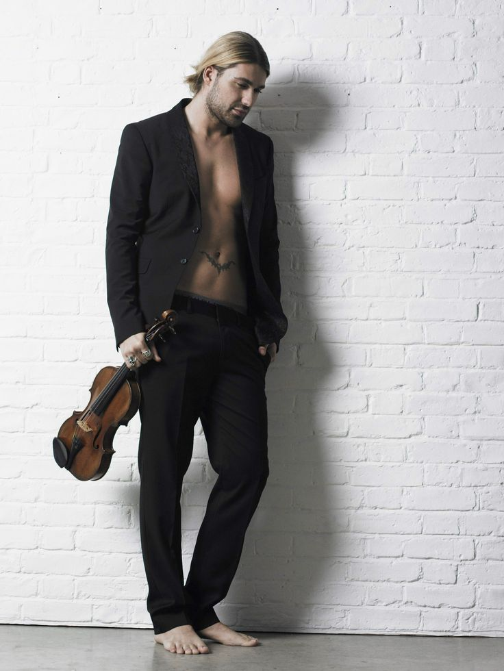 DAVID GARRETT  Am I in heaven???...cuz' I'm pretty sure I'm in heaven...