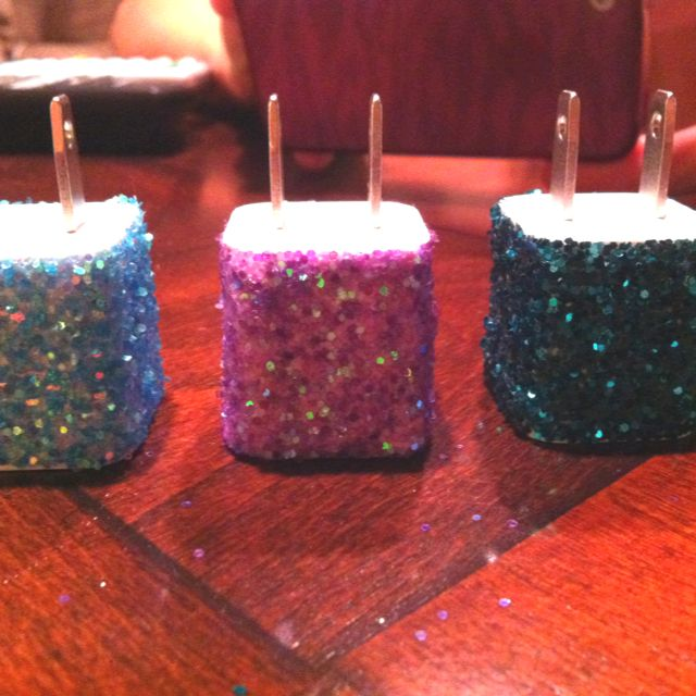 Sparkle iPhone chargers!