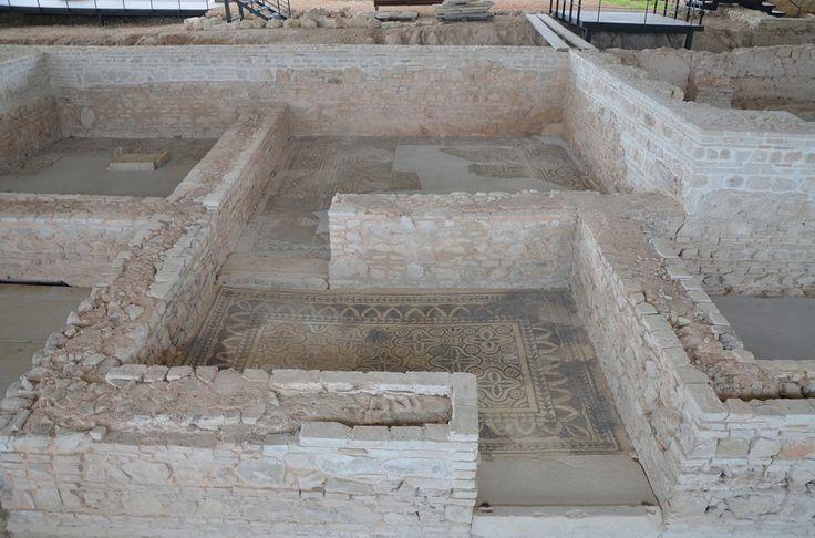 Mosaics of Spain's Roman Baetica Route: Fuente Alamo Roman Villa and Casariche. Villa Romana de Fuente Álamo. Image © Carole Raddato. Baetica mosaics route.