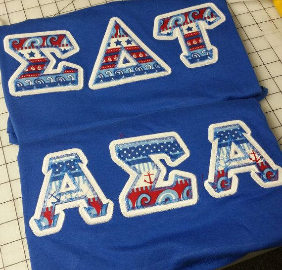 Best 25 sorority letter shirts ideas on pinterest greek for Custom greek letter t shirts