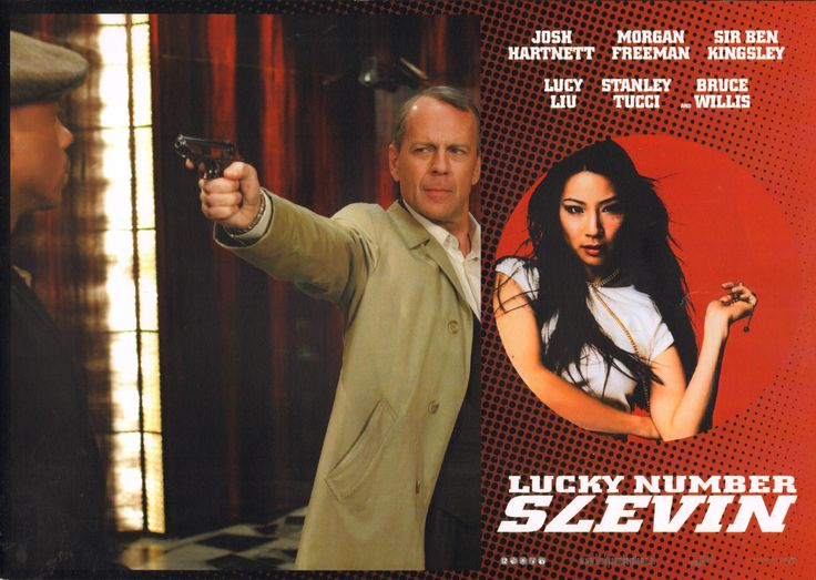 Lucky Number Slevin. Dutch lobby card. 2006 Submitted by Dieter