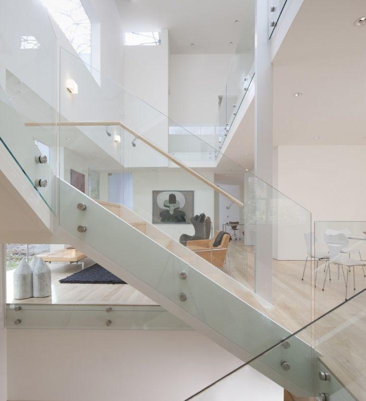 | NaCI House | David Jameson Architect | Glass mounted handrails brackets available @componance australia www.componanceaustralia.com.au