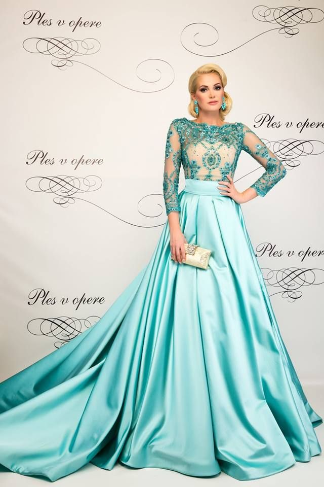 Love this dress!! Pastel gown by Slovak fashion designer Lukas Kimlicka /Ball Season 2014/