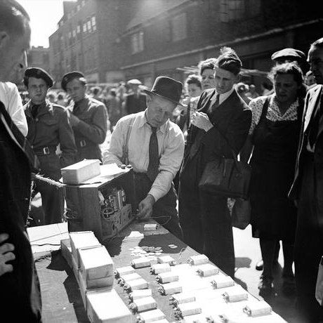 It wasn't just fruit and veg you could buy in Covent Garden in the 1950s
