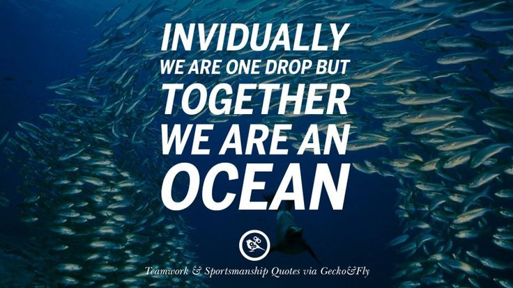 Quotes About Good Sportsmanship: 17 Best Quotes About Teamwork On Pinterest