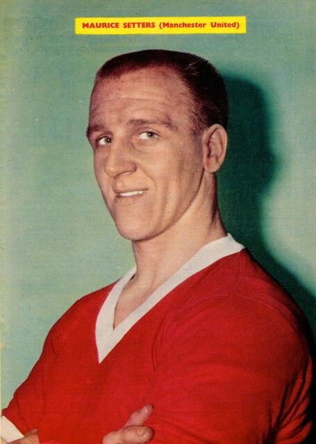 Maurice Setters of Man Utd in 1963.