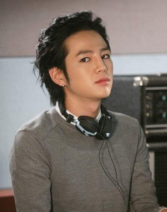 Jang Geun Suk natural hair styles