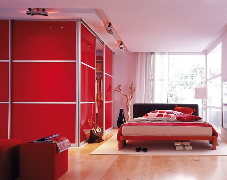 13 best Red Bedroom images on Pinterest | Bedrooms, Red bedrooms and ...