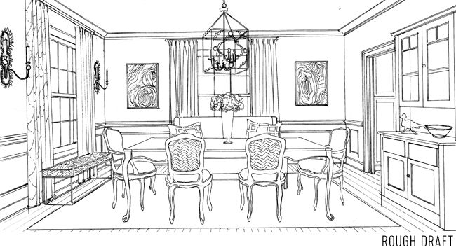 Behind The Scenes Making A Coloring Book Room Dining Room Dining
